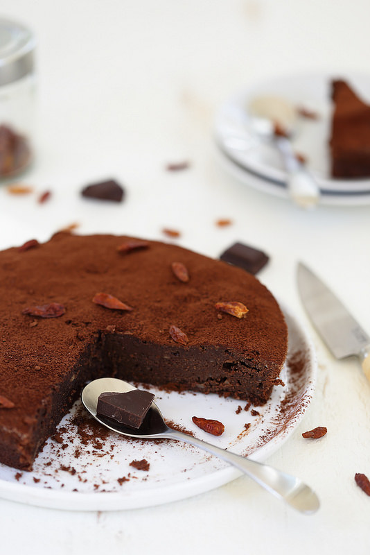 Fondant au chocolat et piment (sans gluten)