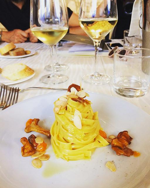 Redécouvrir l'Italie, Vérone et les pâtes Giovanni Rana. Tagliatelle