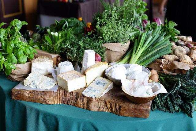 Table fromages italiens