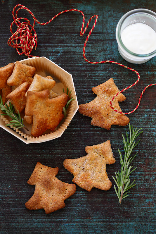 Crackers au yaourt