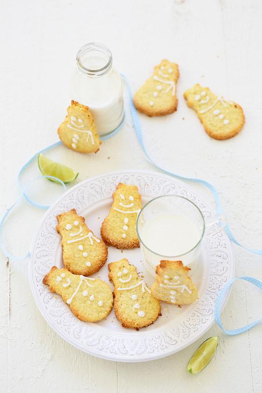 Sables coco citron vert recette