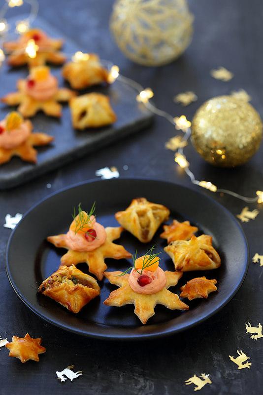 Vingt recettes d'apéritifs pour Noël ou les fêtes bouchées, verrines, tartinades