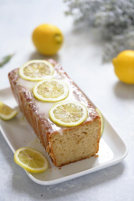Cake citron sans oeufs