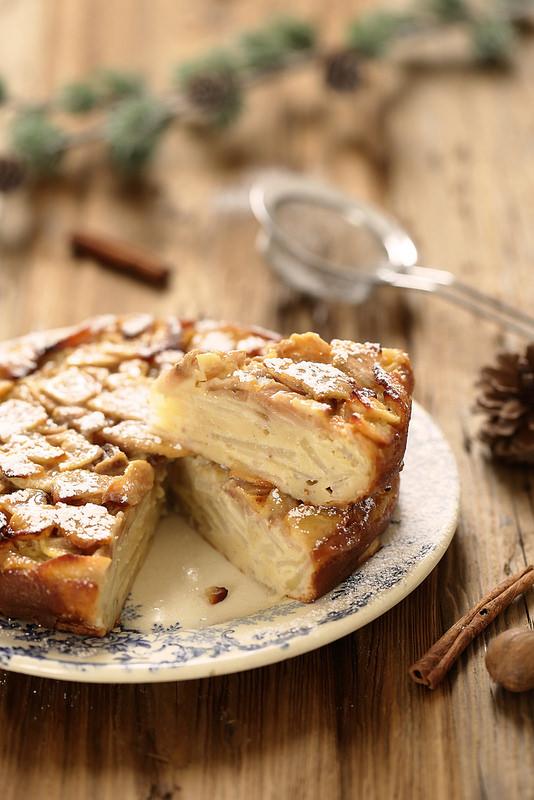 Gâteau invisible poires facile