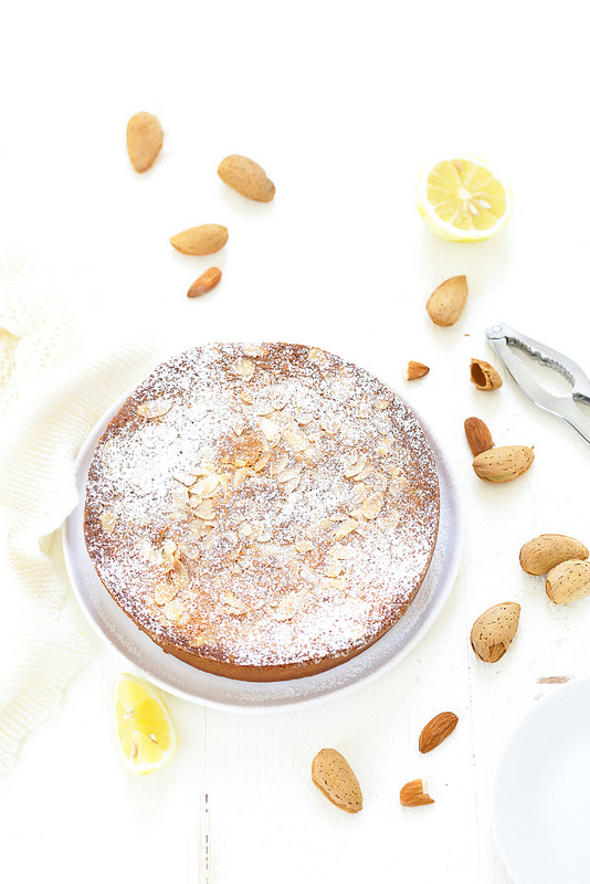 Gâteau fondant amandes sans gluten