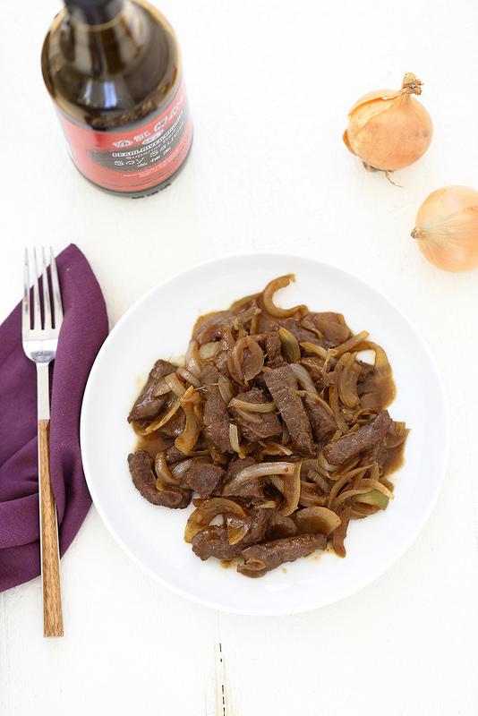 Boeuf aux oignons recette chinoise très facile