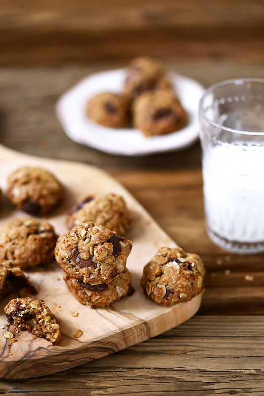 Cookies chocolat l'huile d'olive