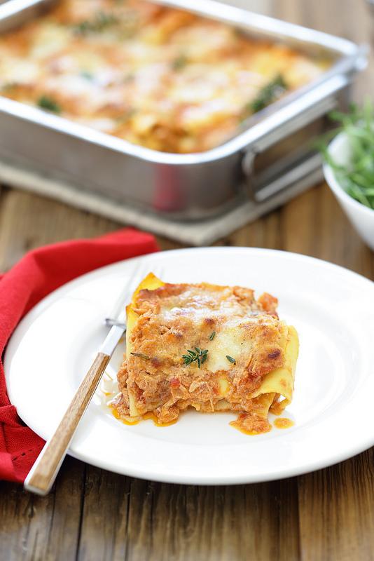 Lasagnes napolitaines (deux recettes italiennes : traditionnelle et moderne)