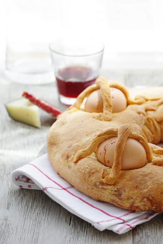 Trente-cinq recettes italiennes de Pâques, de l'entrée au dessert : casatiello, légumes, pasta, agneau, brioches...