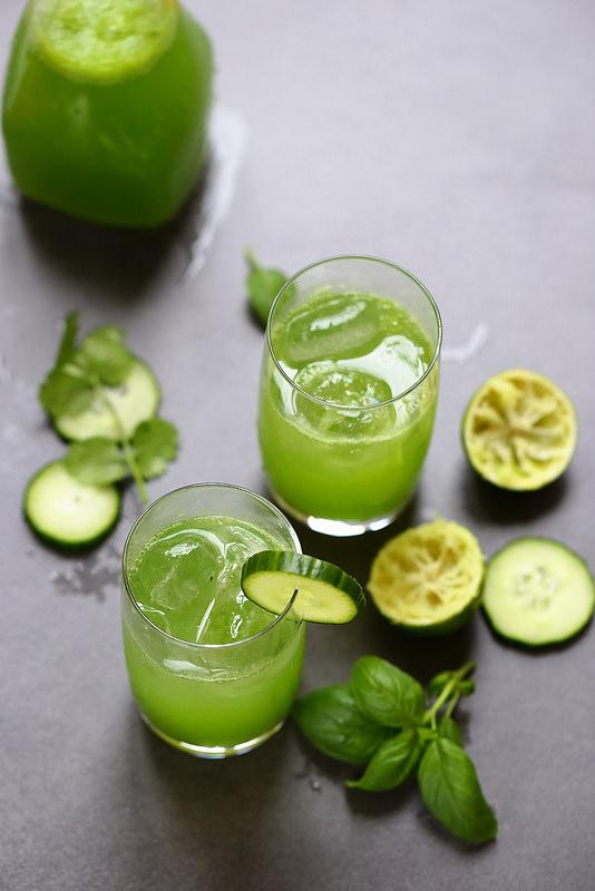 Cucumber cooler cocktail au concombre sans alcool