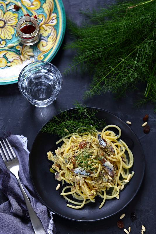Pates aux sardines comme en Sicile, un regal facile et rapide