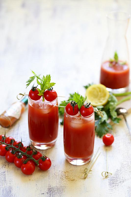 Bloody mary (cocktail), la recette. Leger et rafraichissant