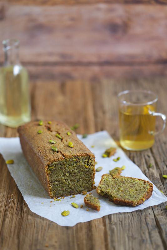 Cake fondant pistaches recette sans gluten