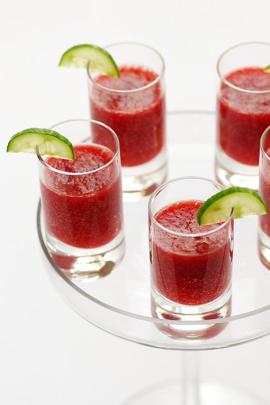 Vingt recettes concombre salades soupes boissons