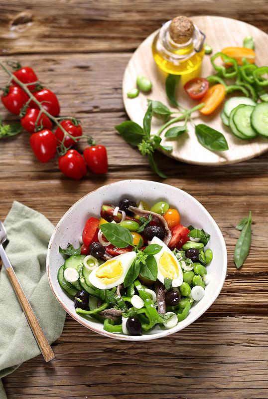 Salade niçoise veritable recette