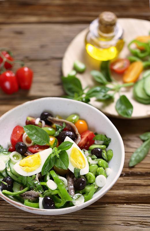 Salade niçoise vraie