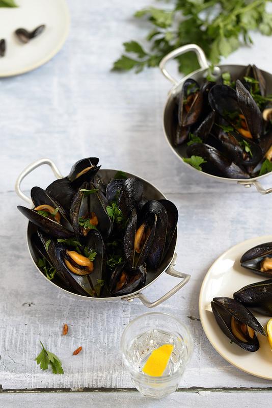 Moules marinieres recette facile rapide