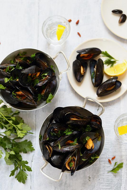 Moules marinieres italie recette bon marche