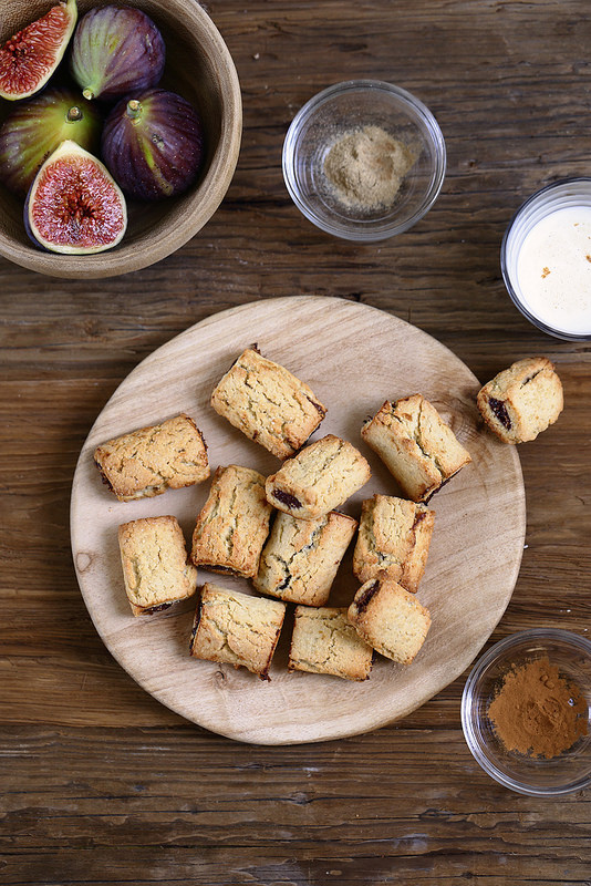 Figolu maison biscuits fourres figues