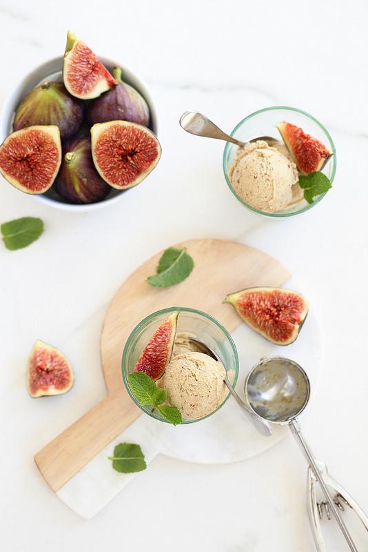 Recette glace figues sans oeufs sans gluten