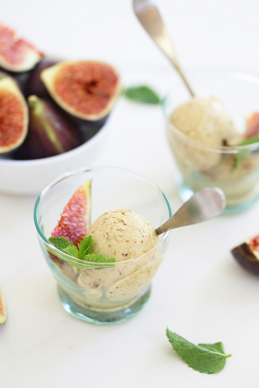 Glace figues quatre ingredients