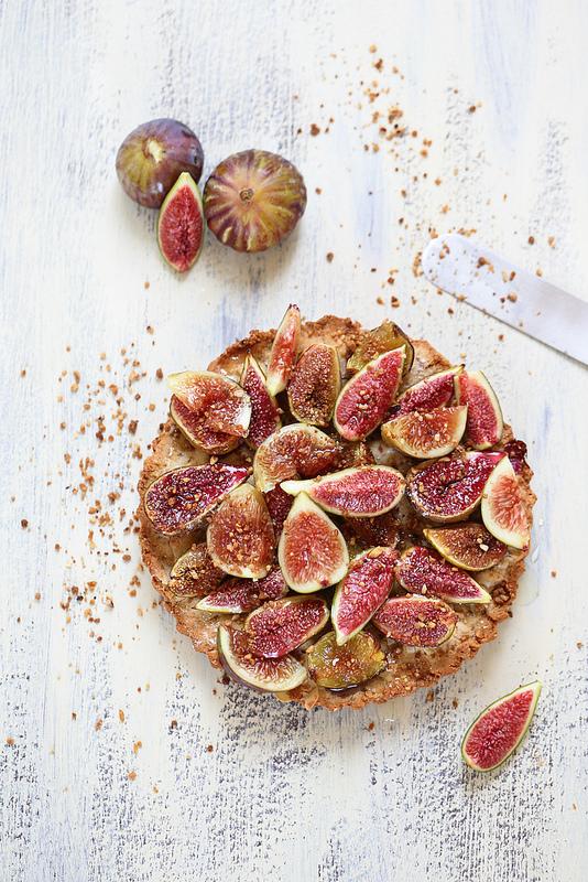 Tarte figues facile sans gluten
