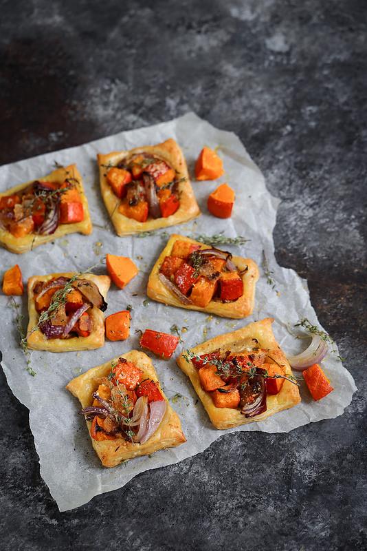 Tarte fine potimarron et oignon recette facile