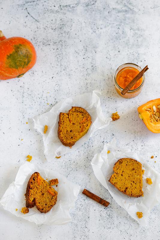 Cake moelleux au potimarron facile et gourmand