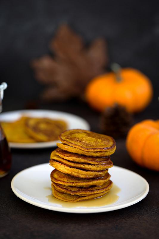 Recette pancakes au potimarron ou autre courge delicieux