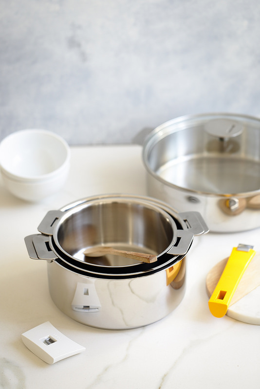 Risotto potimarron chèvre casseroles cristel