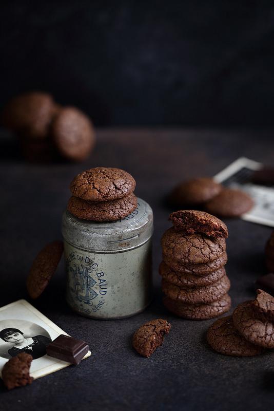 Cookies brownie au chocolat recette facile et rapide