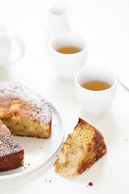 Gâteau moelleux poires recette facile