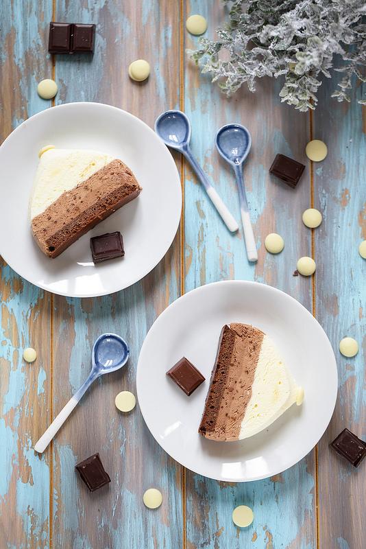 Entremets facile aux trois chocolats (sans gluten)
