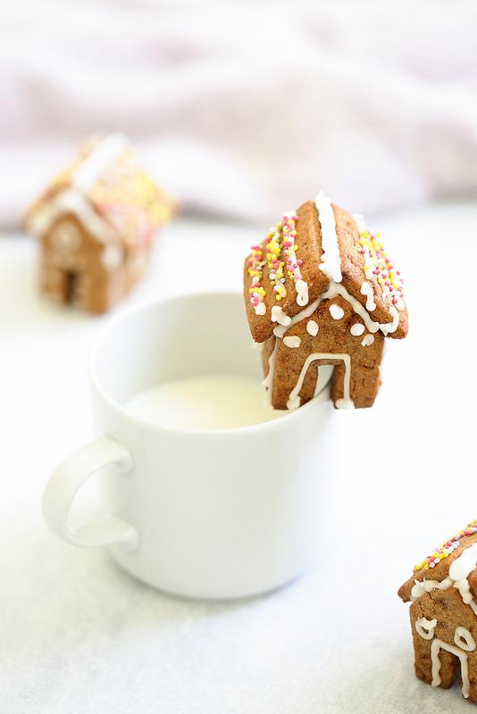 Mini maisons en pain d'épices recette facile sans gabarit juste une règle