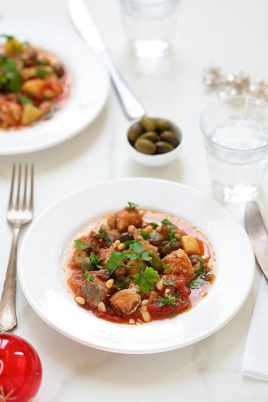 Morue à la sicilienne baccala recette italienne