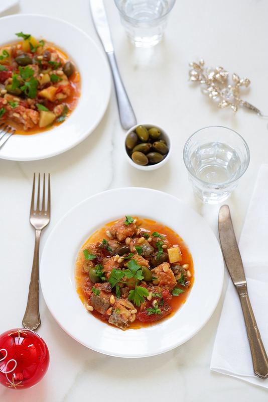 Morue sauce tomate sicilienne recette légère facile