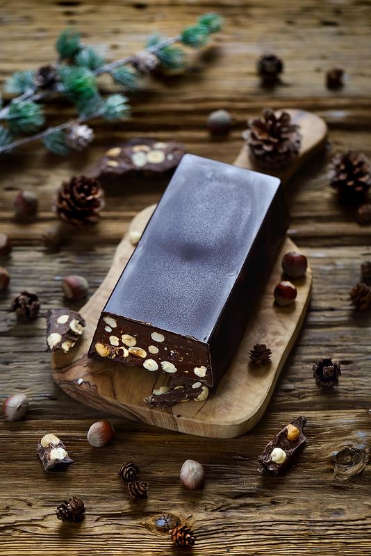 Nougat tendre chocolat noisettes recette facile