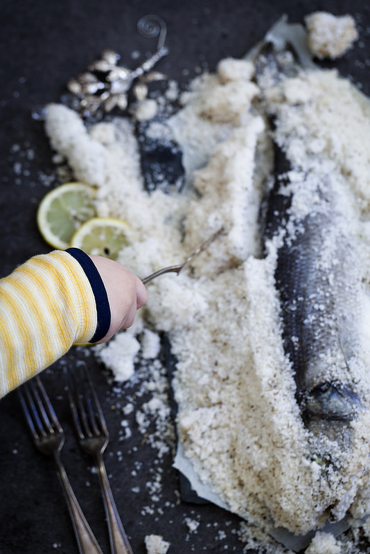 Recette poisson en croûte de sel