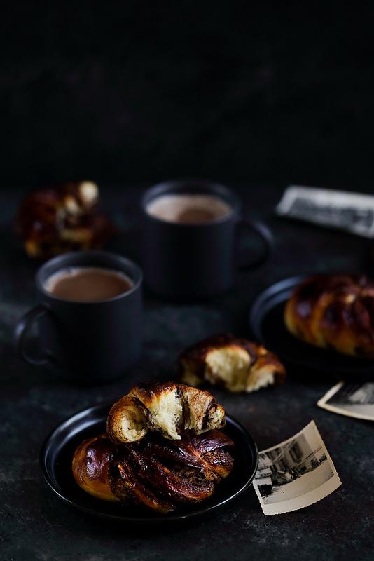 Brioches tressées au chocolat façon babka recette