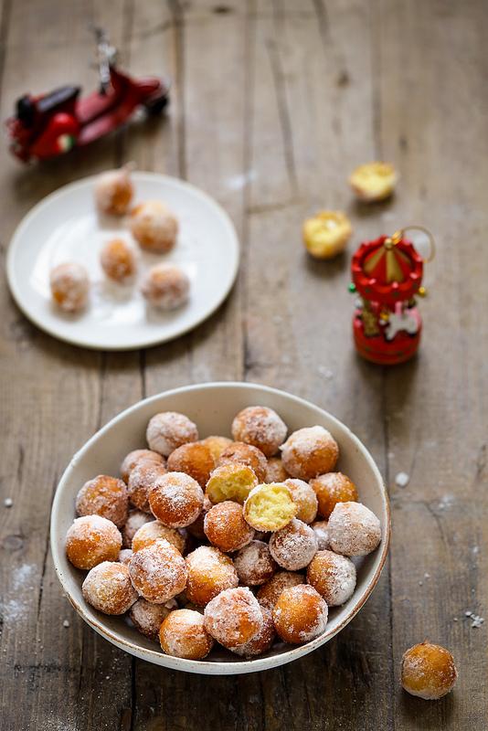 Beignets à la ricotta (castagnole) comme en Italie recette très facile et rapide