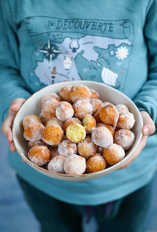 Recette de beignets à la ricotta (castagnole) moelleux et faciles