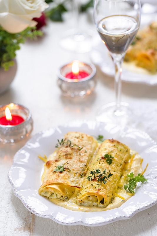 Cannelloni au poisson et crevettes recette facile