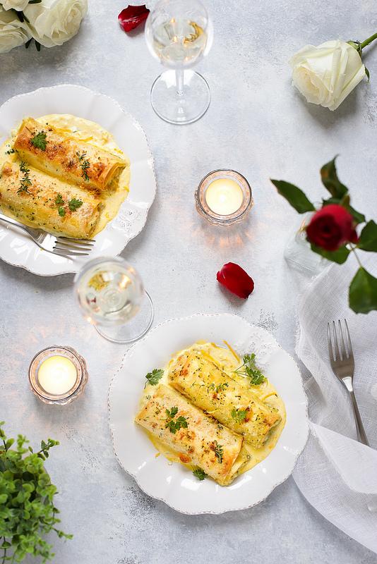 Cannelloni au poisson recette italienne facile rapide