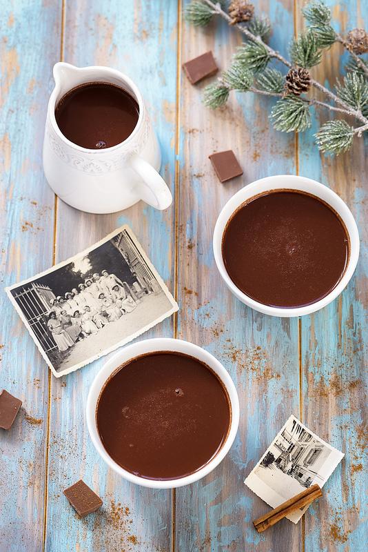 Chocolat chaud à l'ancienne (à l'eau et vegan)