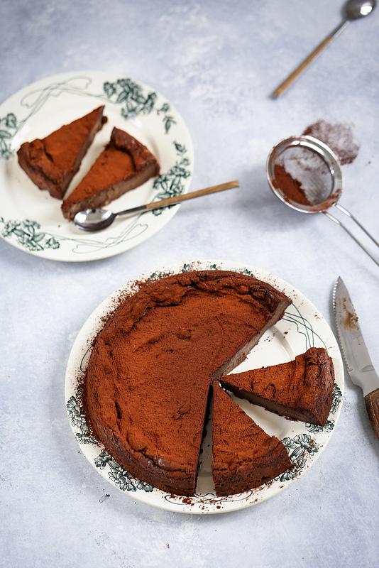 Flan pâtissier chocolat mais sans pâte recette facile