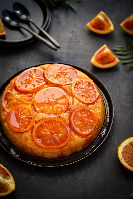 Gâteau renversé à l'orange recette facile délicieuse