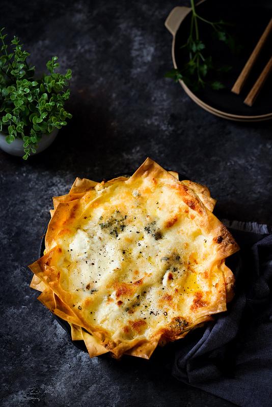 Lasagnes aux fromages recette végétarienne