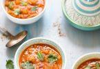 Recette harira soupe marocaine pois chiches tomates agneau facile et délicieuse
