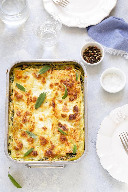 Recette de lasagne saumon épinards delicieuses