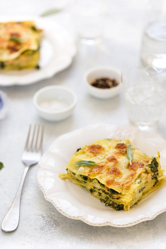 Lasagne saumon et épinards recette